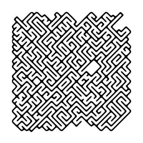 ausmalbild raetselbilder irrgarten labyrinth kostenlos