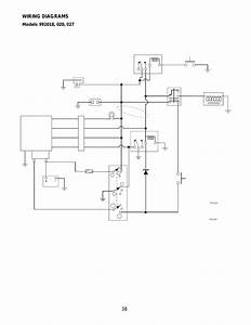 Models 992018  020  027  Wiring Diagrams  38 Wiring Diagrams