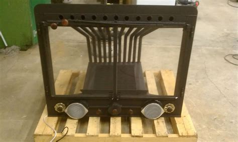 Fireplace Insert Wood Grate Heater Furnace Blower Heat