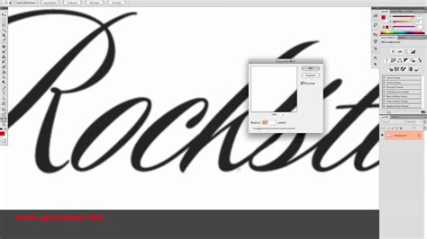 Apply any image editing options you might need or want. photoshop tutorial | convert bitmap logo to vector - YouTube