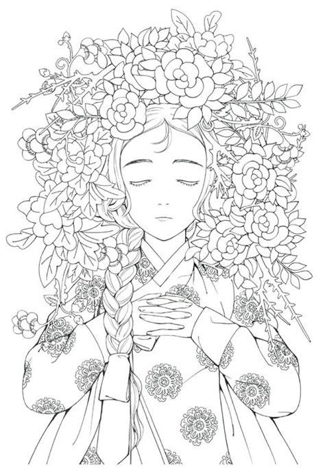 fairy tale korean illustrations coloring book vostok