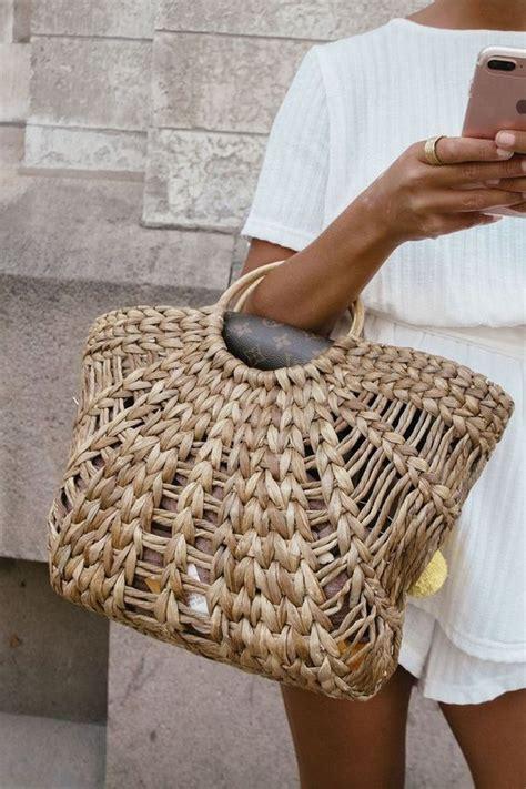 basket bags bolsos cesta front row