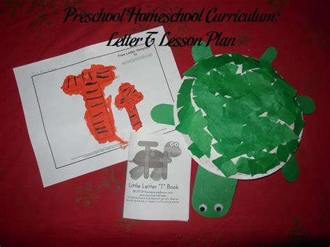 letter t lesson plan for preschool preschool homeschool curriculum letter t lesson plan 575