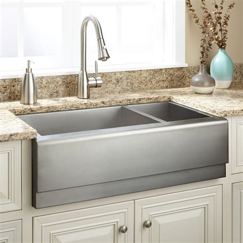 utility sink faucet 33 quot executive zero radius 70 30 offset bowl