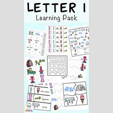 Letter I Worksheets + Activities For Preschool  Fun With Mama