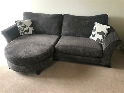 Dfs Settee by Sold Dfs 4 Seater Lounger Sofa Settee And Large Swivel