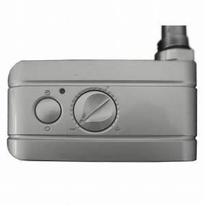 Thermostat Pour Seche Serviette Electrique : kit resistance et thermostat analogique gris pour seche ~ Premium-room.com Idées de Décoration