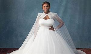 Serena williams shows off her stunning wedding ring for Serena williams wedding dress