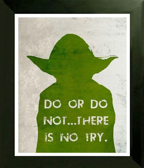 star wars yoda  poster print