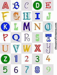 free printable alphabet letters print these cute With magnetic letter printables