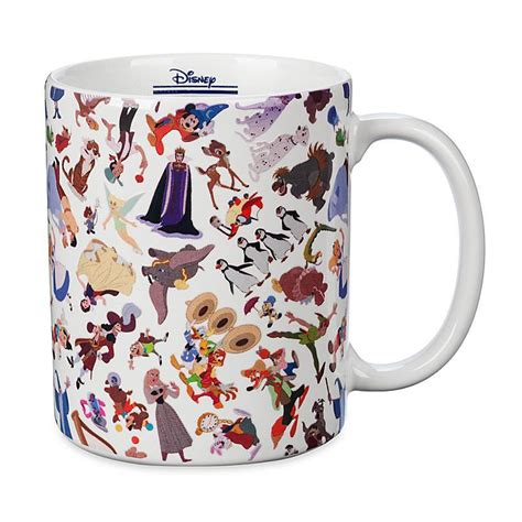 Disney fairy tale collection mugs + limited designer collection peter pan & captain hook. Disney Parks Ink & Paint Color Change Coffee Mug New - Walmart.com - Walmart.com
