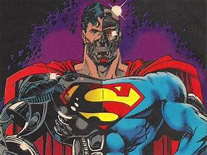 superman comic art | Cyborg Superman Comic WP by ...