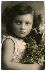 Old, Photo, -, Child, With, Amazing, Face