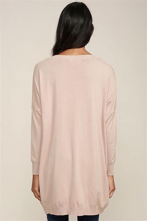 oversized pink sweater blush pink sweater v neck sweater oversized sweater