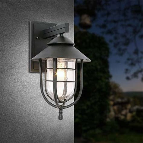 light fittings bright aluminium outdoor wall light