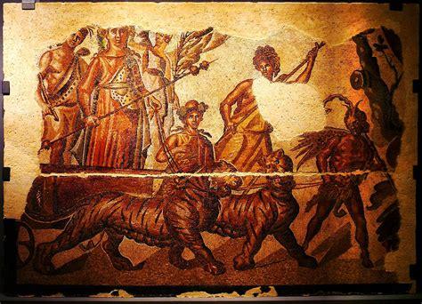 Mosaico Del Triunfo De Baco (zaragoza)  Wikipedia, La