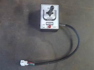 Fisher Snow Plow Joystick Controller