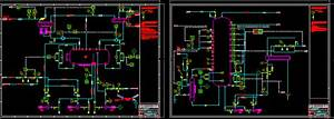 Process Distillation Column Dwg Block For Autocad