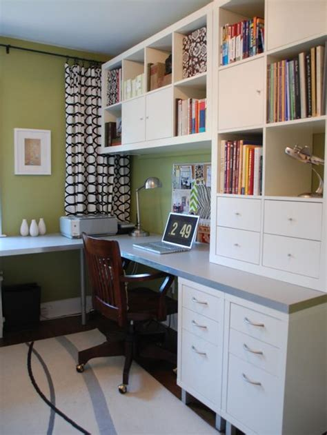 Home Office With Ikea Ikea Office Home Design Ideas Pictures Remodel And Decor