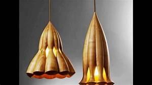 Lampen Aus Holz : feine designer lampen aus holz von seetieren aus den tiefen inspiriert youtube ~ Markanthonyermac.com Haus und Dekorationen