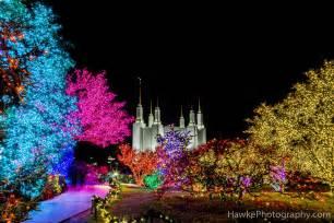 washington d c mormon temple lights 2016