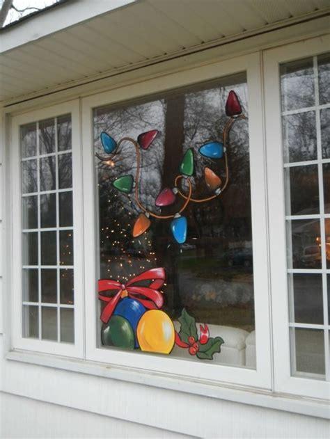 Weihnachtsdeko Fenster Bemalen by Feine Fensterbilder Zu Weihnachten Und Winterzeit