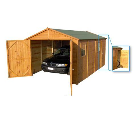garage stor en bois surface utile 14 40 m 178 prix 990 euros sur carrefour fr ventes pas cher