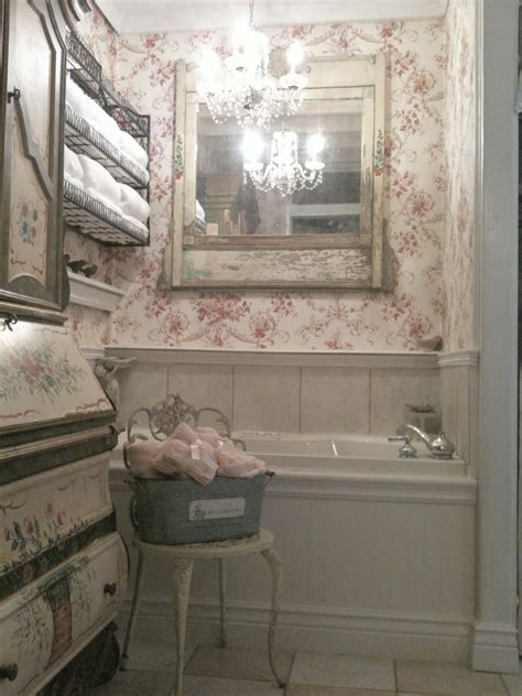 vintage bathroom french country cottage