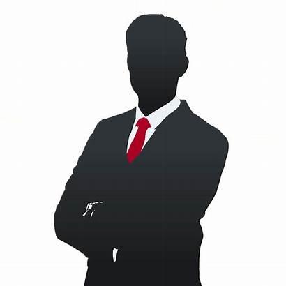 Clipart Suit Business Executive Silhouette Manager Transparent