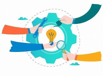 Clipart Business Development Vector Problem Competence Coordination