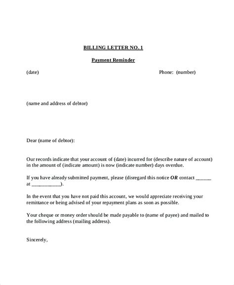 invoice reminder template