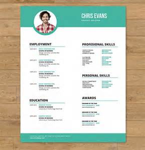 modern resume exles 2016 30 business resume templates free psd ai word eps