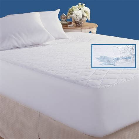 waterproof mattress pad cannon quilted waterproof mattress pad