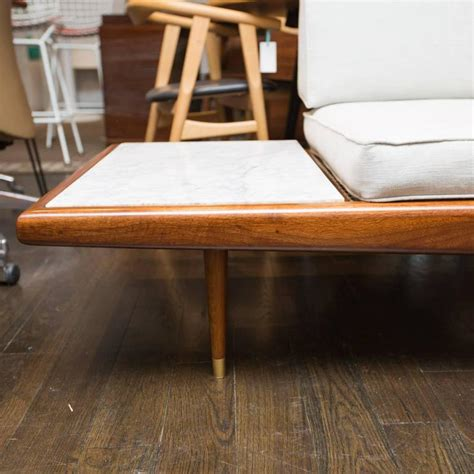 adrian pearsall daybed sofa  craft associates  stdibs