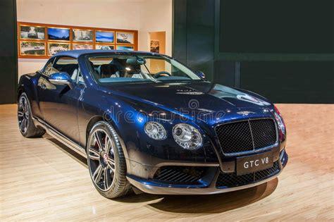 Bentley Series Car Chongqing Auto Show Editorial Stock
