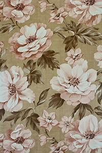 Retro brown floral wallpaper from the 70s - Dead Stock ...
