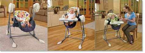 fisher price swing to high chair mosaic