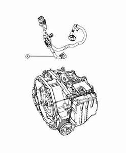 Fiat 500 Wiring  Transmission
