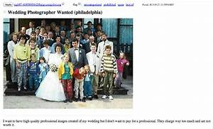 wanted wedding photographer for 100 very attractive With craigslist wedding photographer
