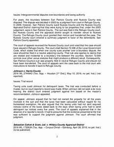 2016 property tax case summaries