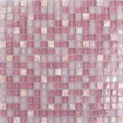 yellow and brown kitchen ideas pink glass mosaic tile square bathroom wall and