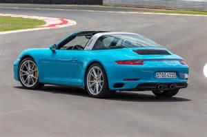bmw car porsche 911 targa 4 2016 review by car magazine