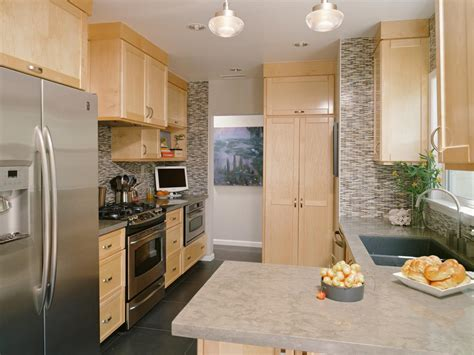 kitchen cabinets small spaces spaces in your small kitchen hgtv 6389