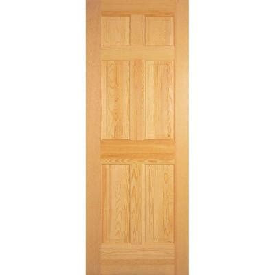 home depot solid core masonite 30 in x 80 in radiata smooth 6 panel solid unfinished pine interior door slab