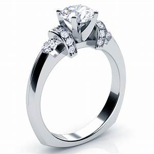 tension set diamond engagement ring 201 bellevue seattle With tension set wedding rings