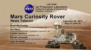 NASA Curiosity Rover Teleconference Live Stream | The Mary Sue