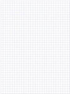 Printable Full Page Graph Paper Standard Graphing Paper You May Select Either 1 10 1 4 3