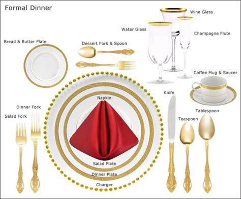 how to set a formal dinner table table setting guides at our party rental store in san jose
