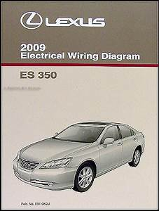 2009 Lexus Es 350 Wiring Diagram Manual Original