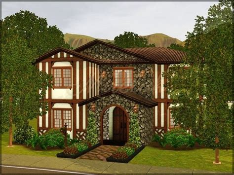 windsor mansion  tudor house  mireluk sims